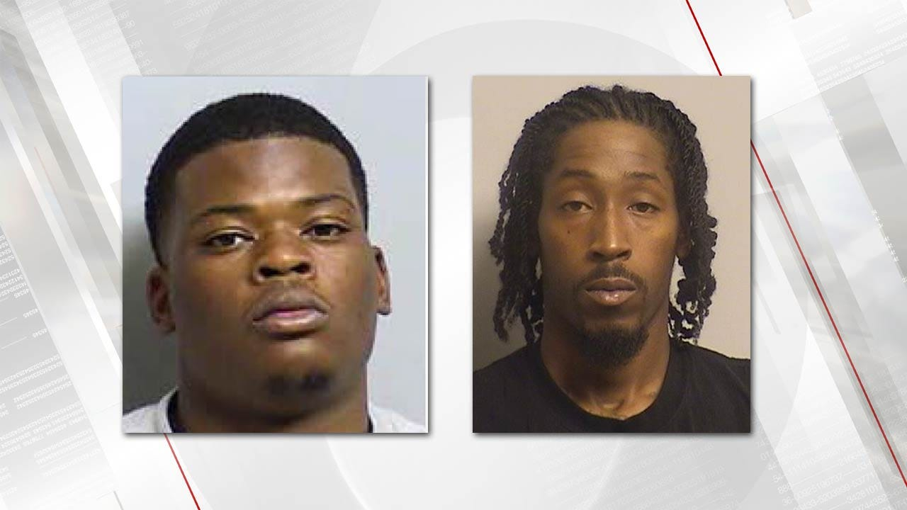Police: Both Men Sought In Tulsa Double Shooting Behind Bars