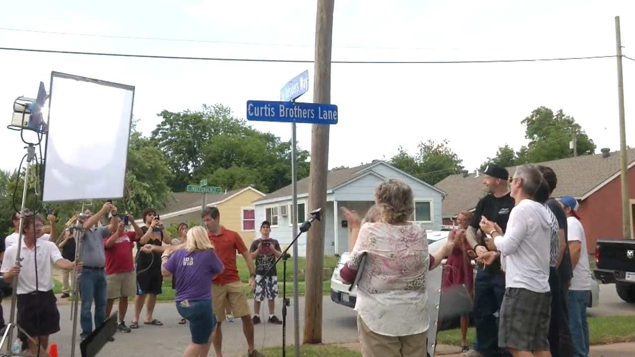 Tulsa Renames Street In Front Of 'The Outsiders' Home