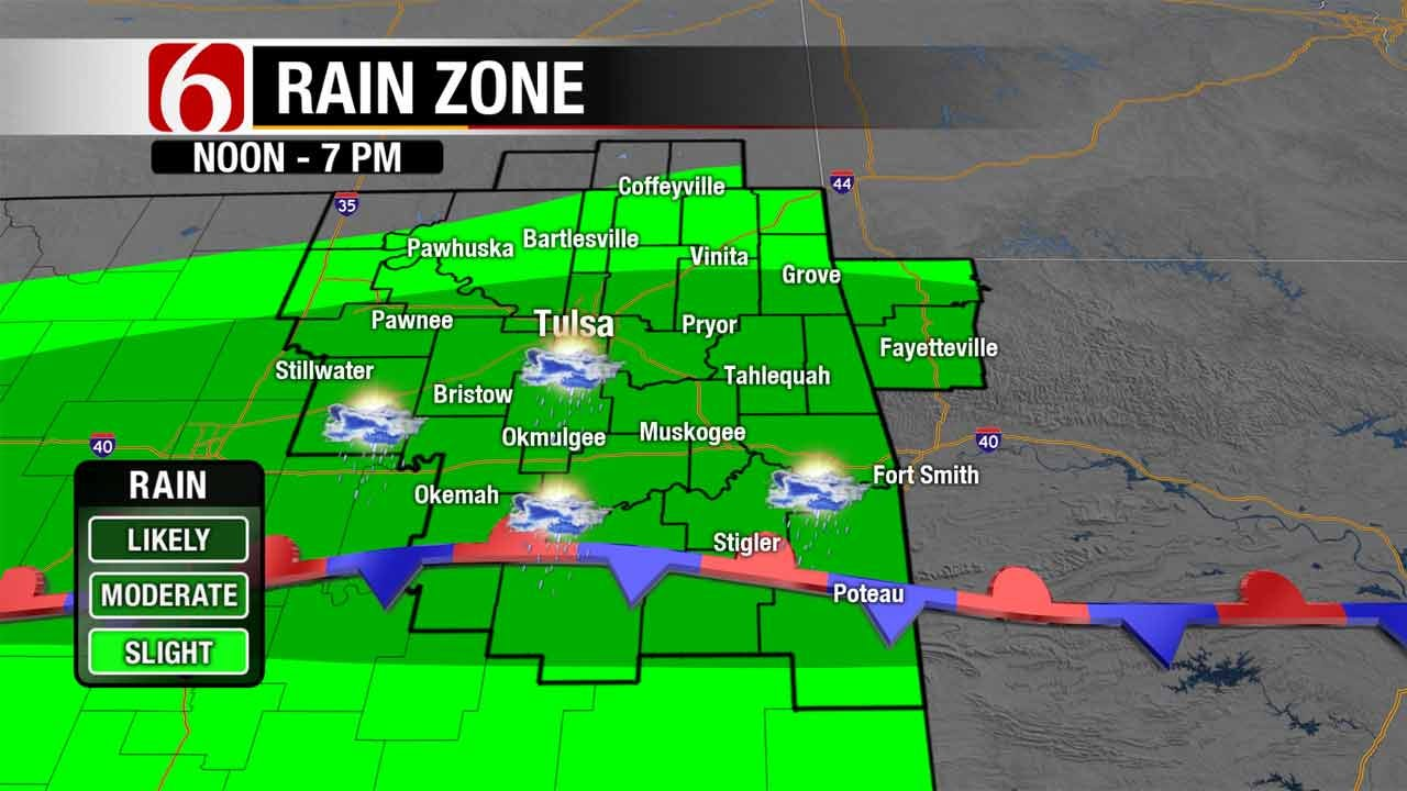 Storm Chances Continue For Green Country