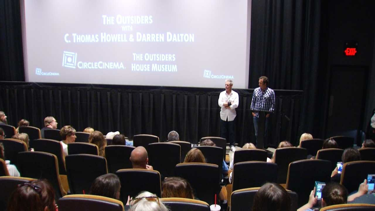 'The Outsiders' Special Movie Showing Attracts Dozens