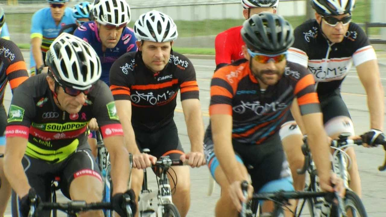 Tulsa Cyclists Raise Money For 2 Men Hurt By Alleged DUI Driver
