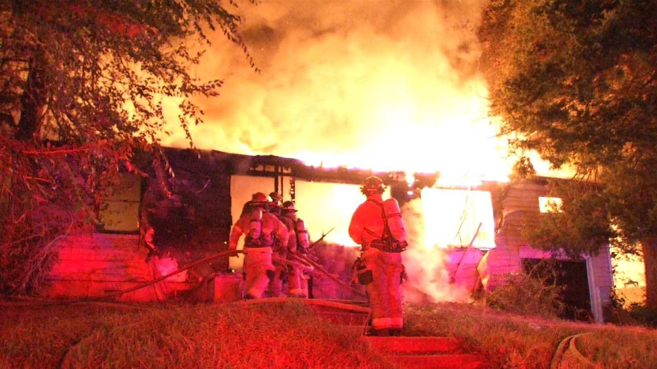 Tulsa Fire Department Investigating Cause Of House Fire