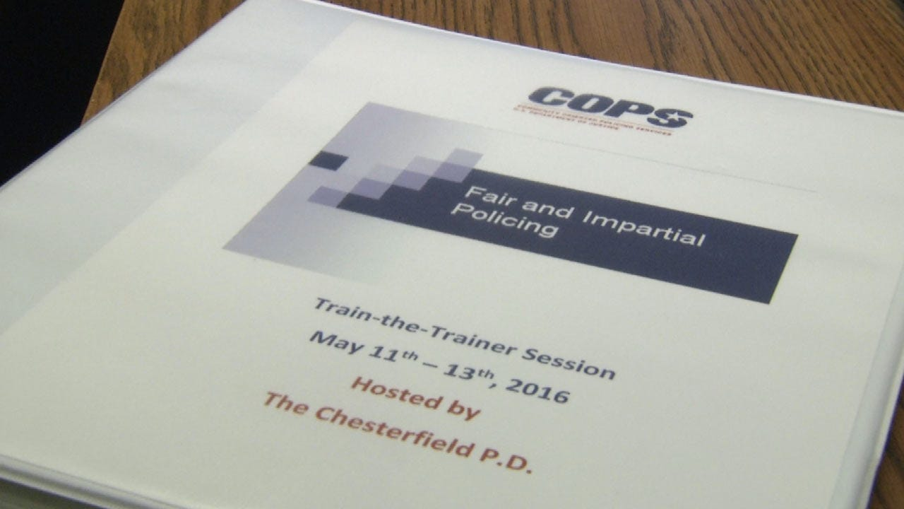 Department Plan Calls For Sand Springs Police Officers To Undergo Anti-Bias Training
