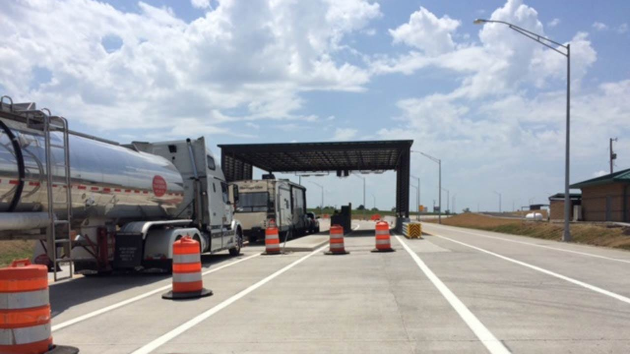 Indian Nations Turnpike Opens Up New Toll Plaza