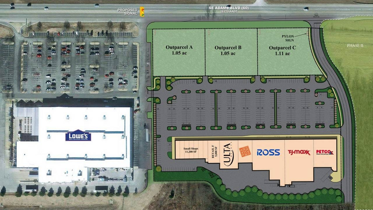 National Retailers Named For New Bartlesville Shopping Venue