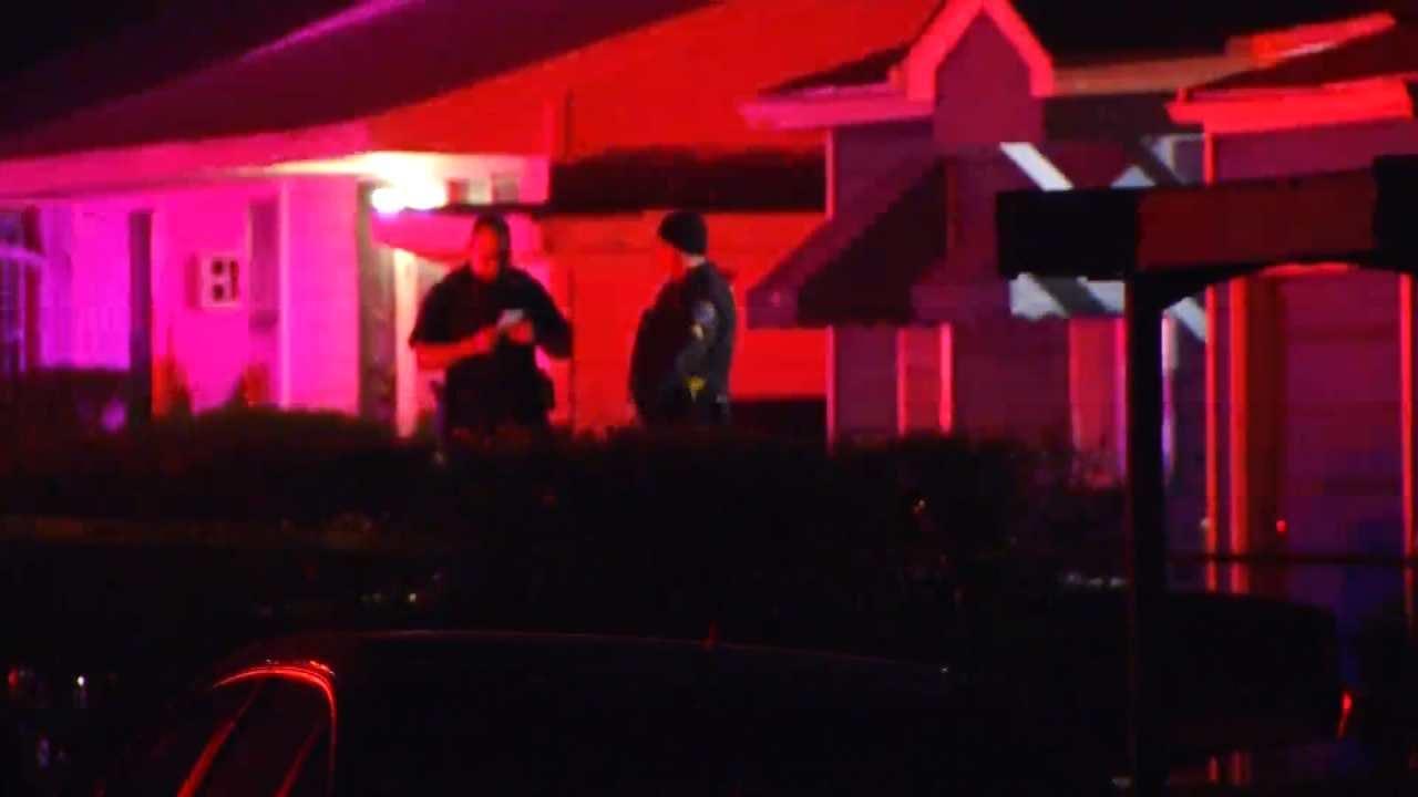 Police: Man Shot, Killed Breaking Into Tulsa Home
