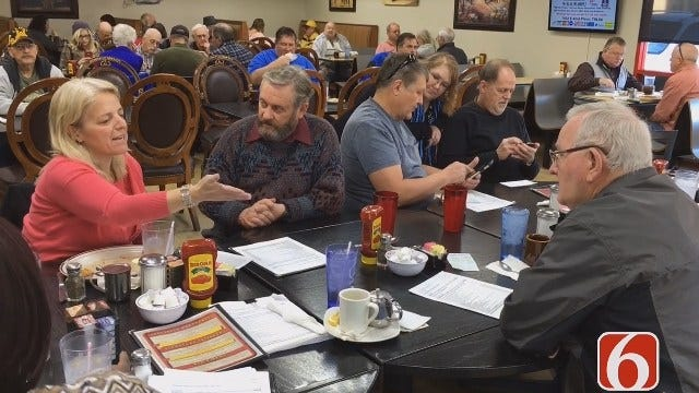 Tulsa City Councilors, Residents Discuss Vision Package Over Coffee
