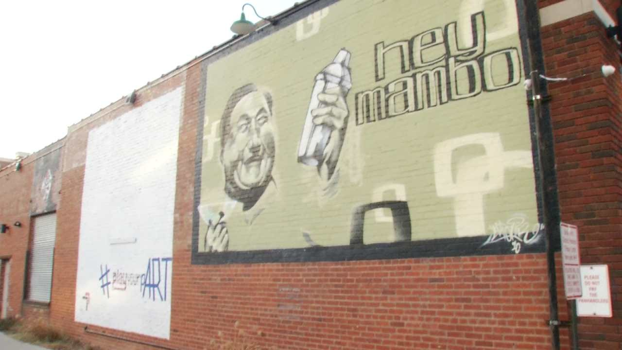 Arts Alliance Raises Money Through Huge Mural Planned For Downtown Tulsa