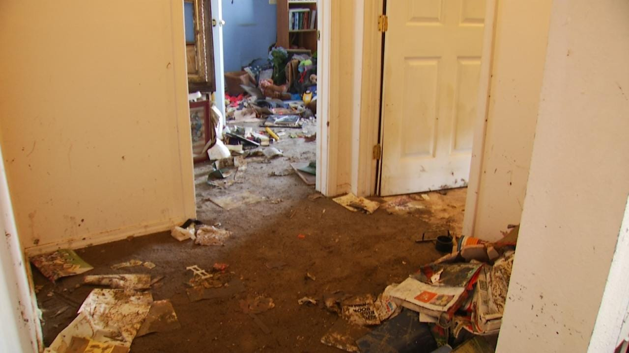 Cleanup Beginning For Oklahoma Families Hit By Flooding