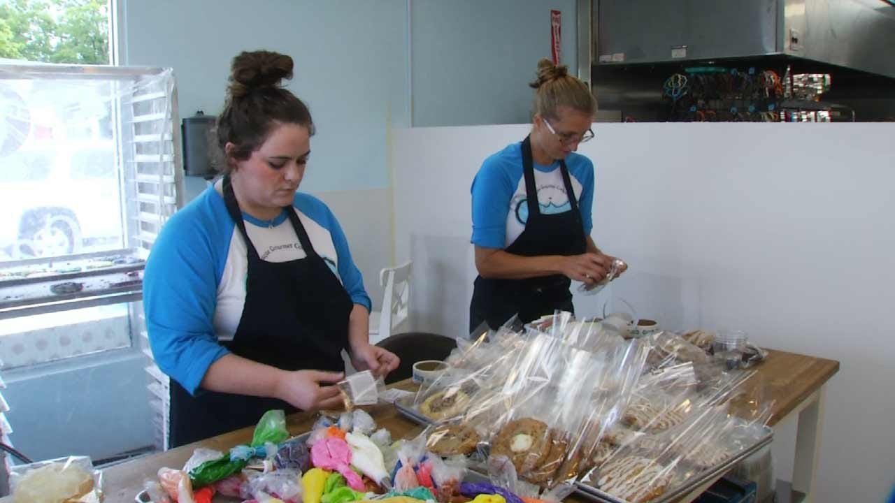 Jenks Bakers Back To Work After Car Crashes Through Store