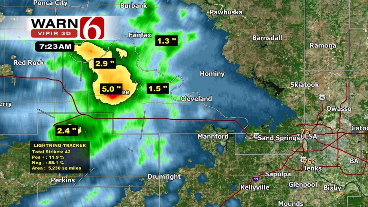 More Storms Across Oklahoma Friday