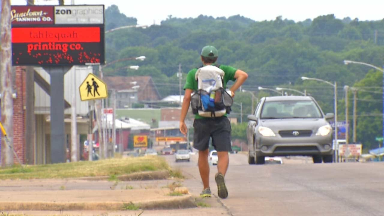 Oologah Man Completes Month-Long Walk Of Trail Of Tears