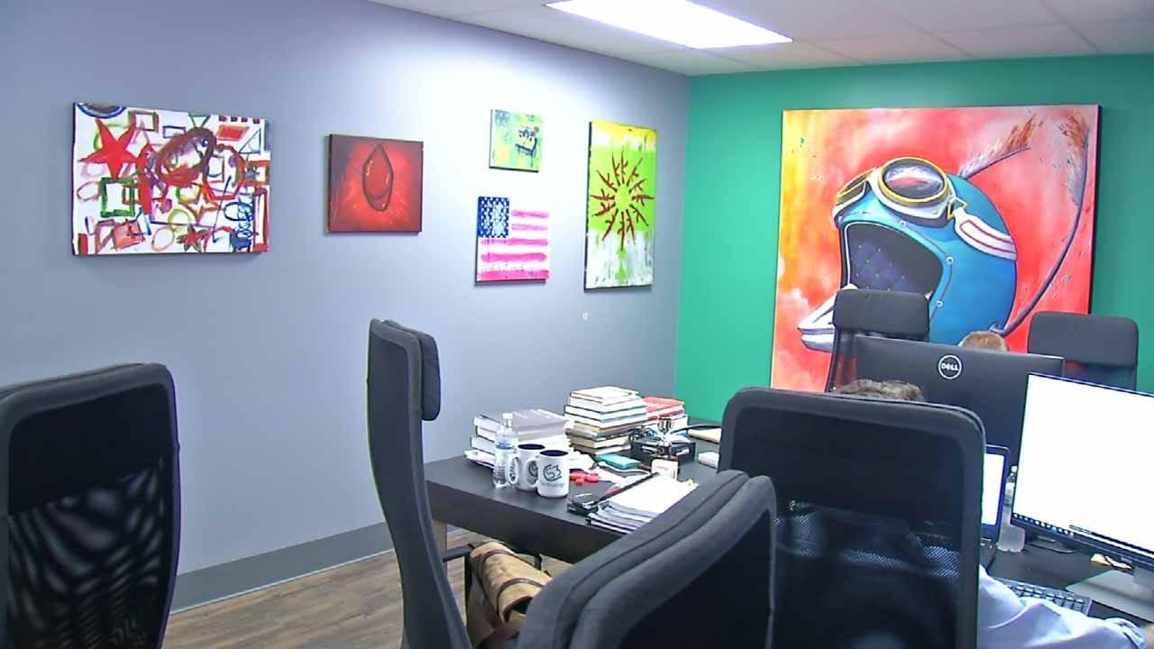 Art Helping OK Veterans Adjust To Civilian Life; Paintings To Be Showcased