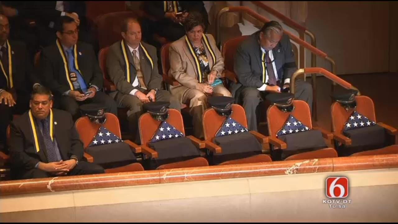 Interfaith Memorial Service Held For Fallen Dallas Officers