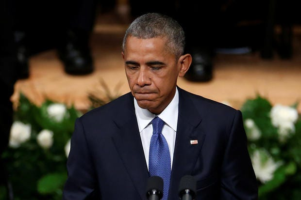 Obama: 'Dallas, I'm Here To Say We Must Reject Such Despair'