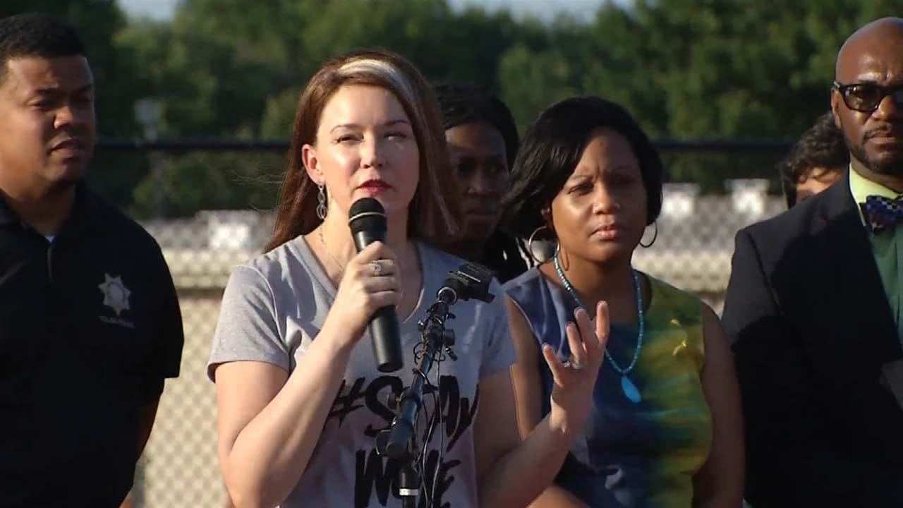 'Unite T-Town' Vigil Brings Tulsans Together For Peace