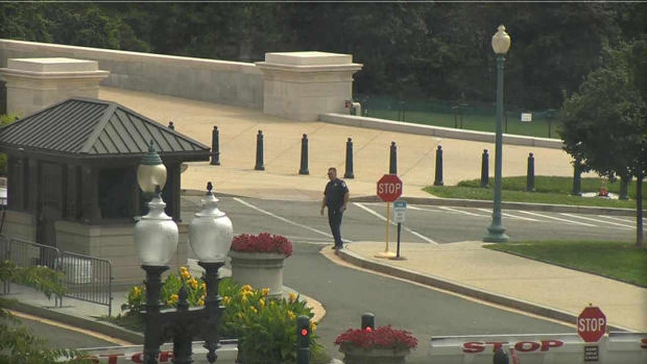 U.S. Capitol Briefly On Lockdown