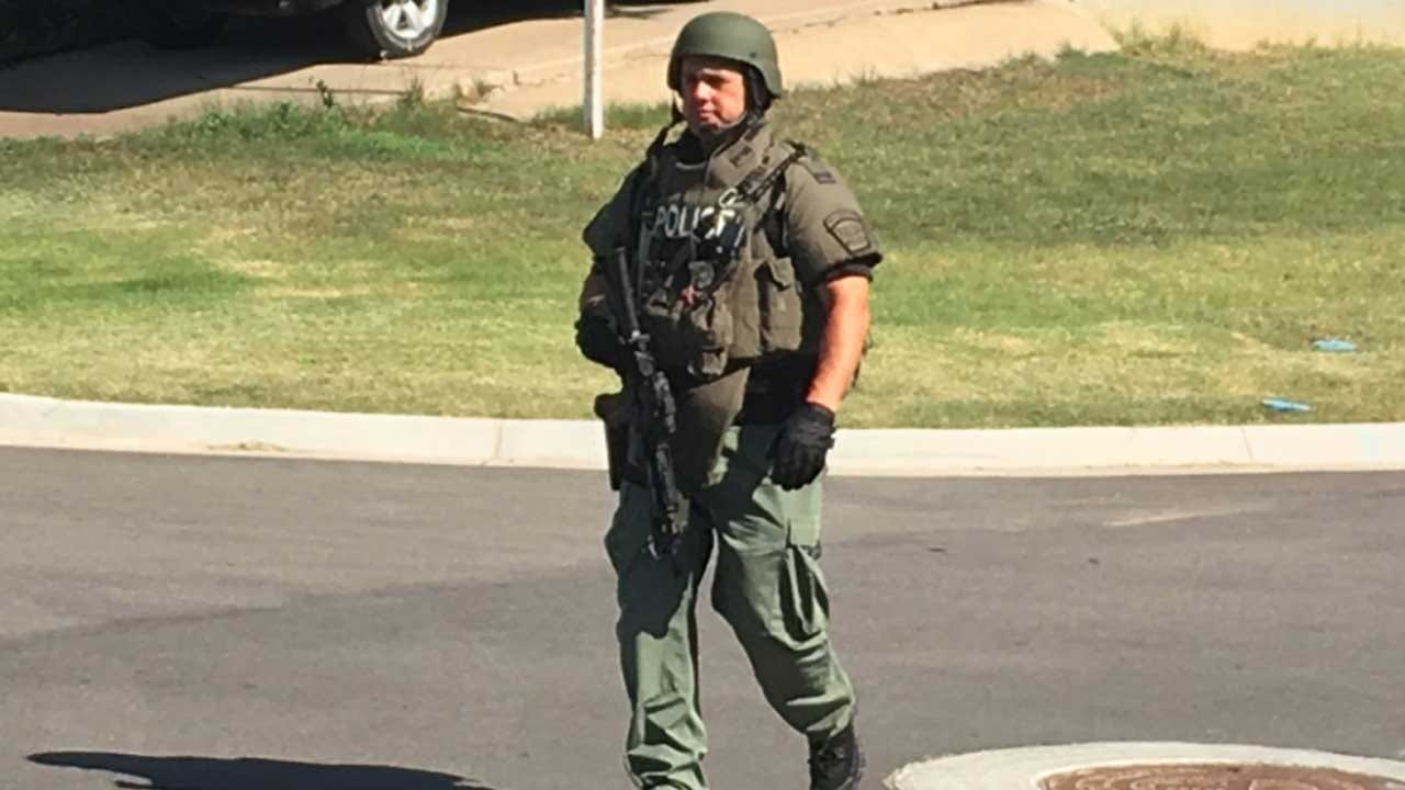 Armed Suspect Surrenders After Six-Hour Standoff With Tulsa Police