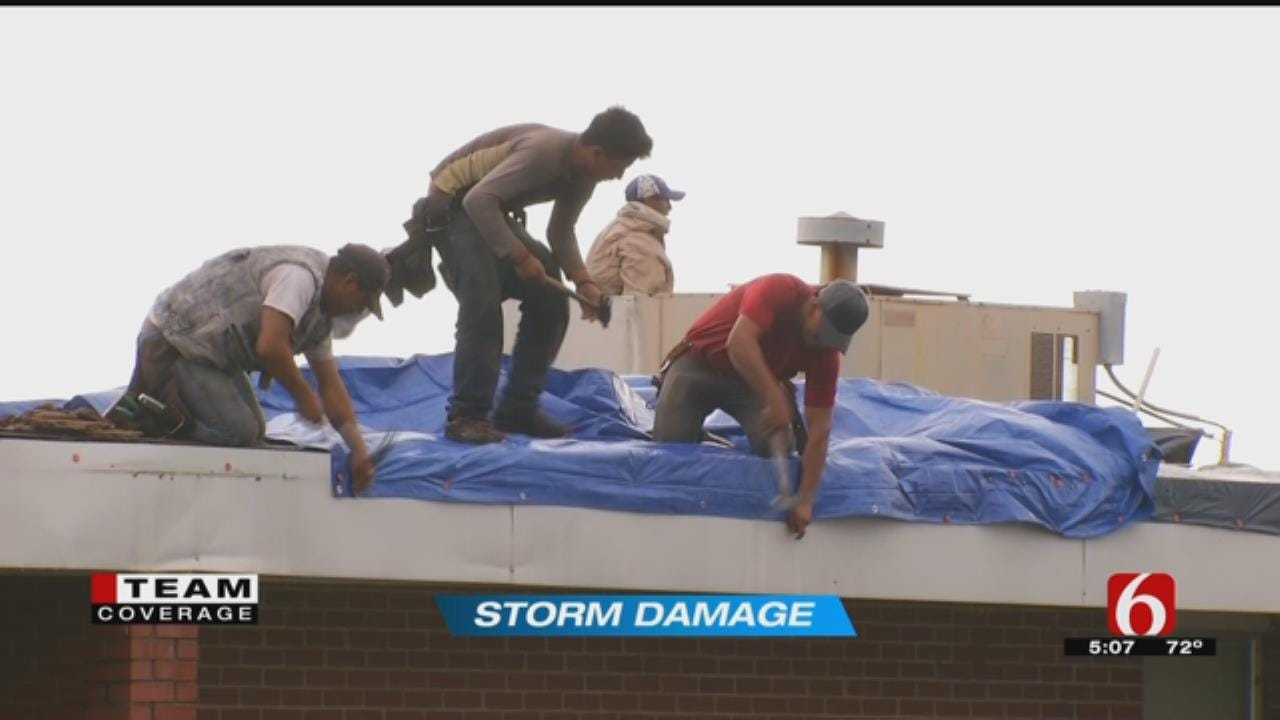 Coweta Schools Incur 'Hundreds Of Thousands' Worth Of Storm Damage