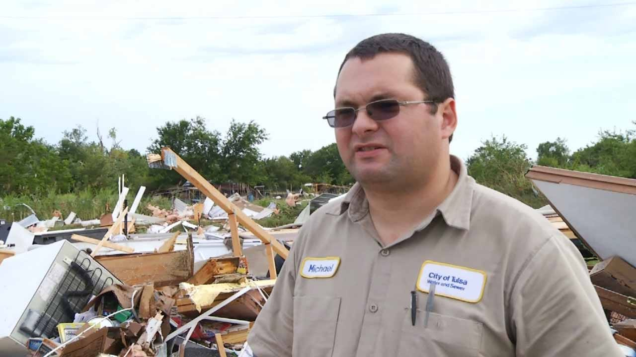 Inola Man's Home Total Loss As Storms Rip Through Rogers County