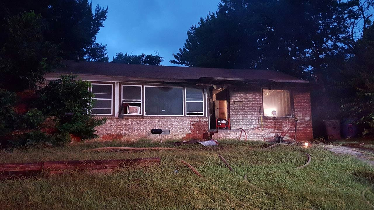 Candles May Have Sparked Fire At Tulsa House Without Power