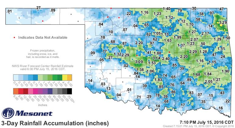 Oklahoma, Here Comes the Heat