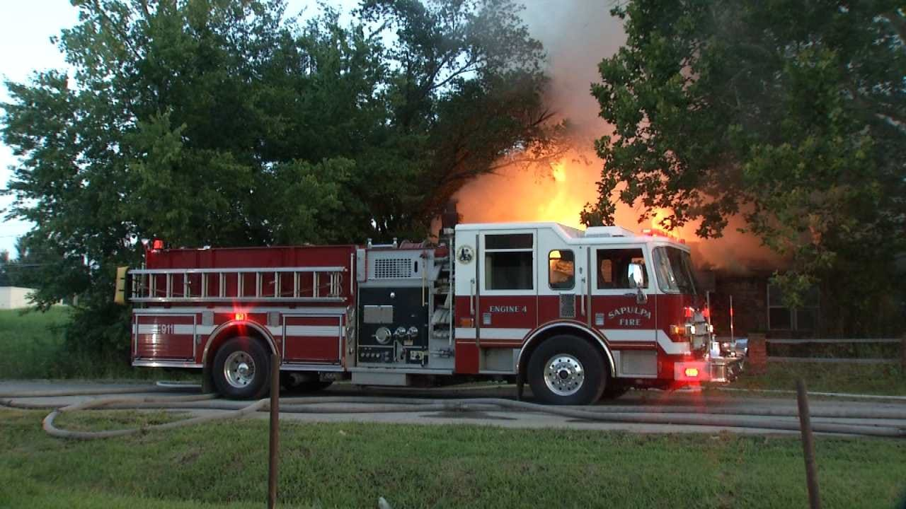 Vacant Berryhill Area Home Destroyed By Fire
