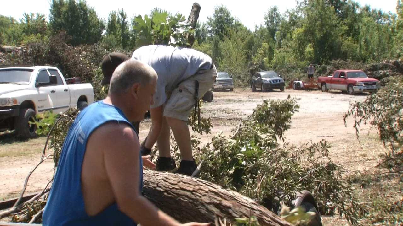 Bixby Debris Disposal Site Helps Storm Cleanup Process