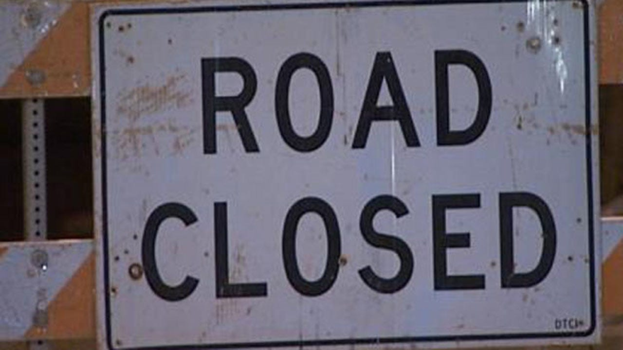 Railroad Crossing Repairs To Close One Mile Of 36th Street North