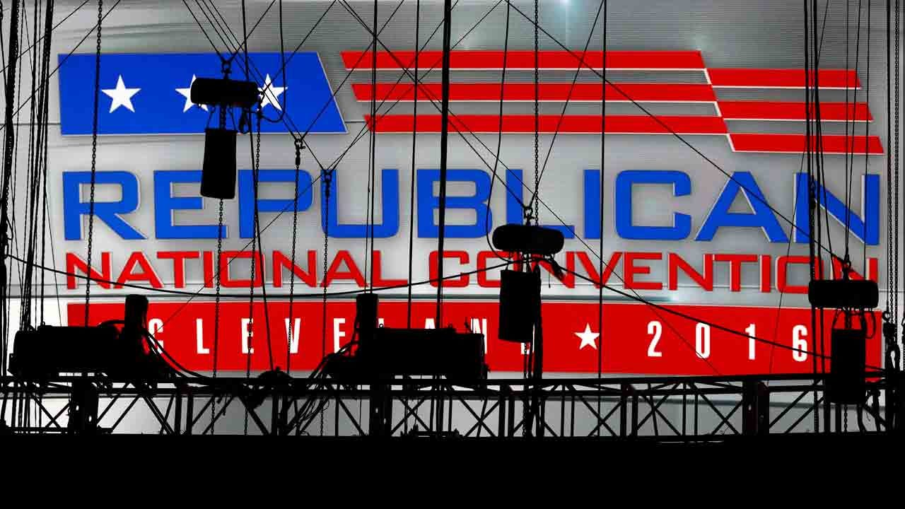 Republican Convention Kicks Off In Cleveland