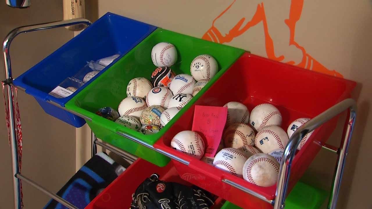 Tulsa 10 Year Old Dubbed 'Foul Ball Magnet' As Collection Keeps Growing