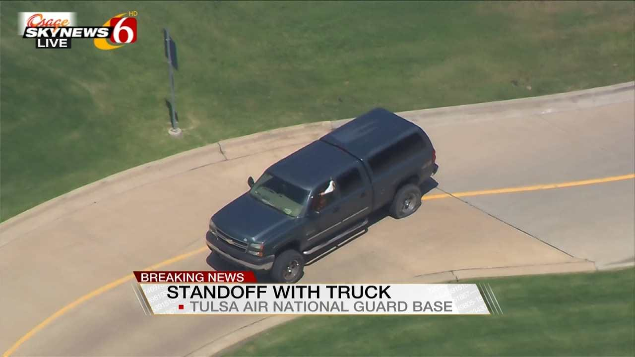 Woman Involved In Standoff At Tulsa Air National Guard Base