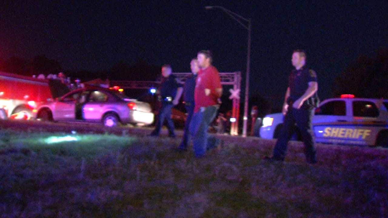 Driver Arrested After Police Chase From Kiefer To Tulsa
