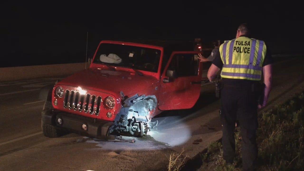 Elderly Driver Causes Wrong-Way Tulsa Crash, Police Say