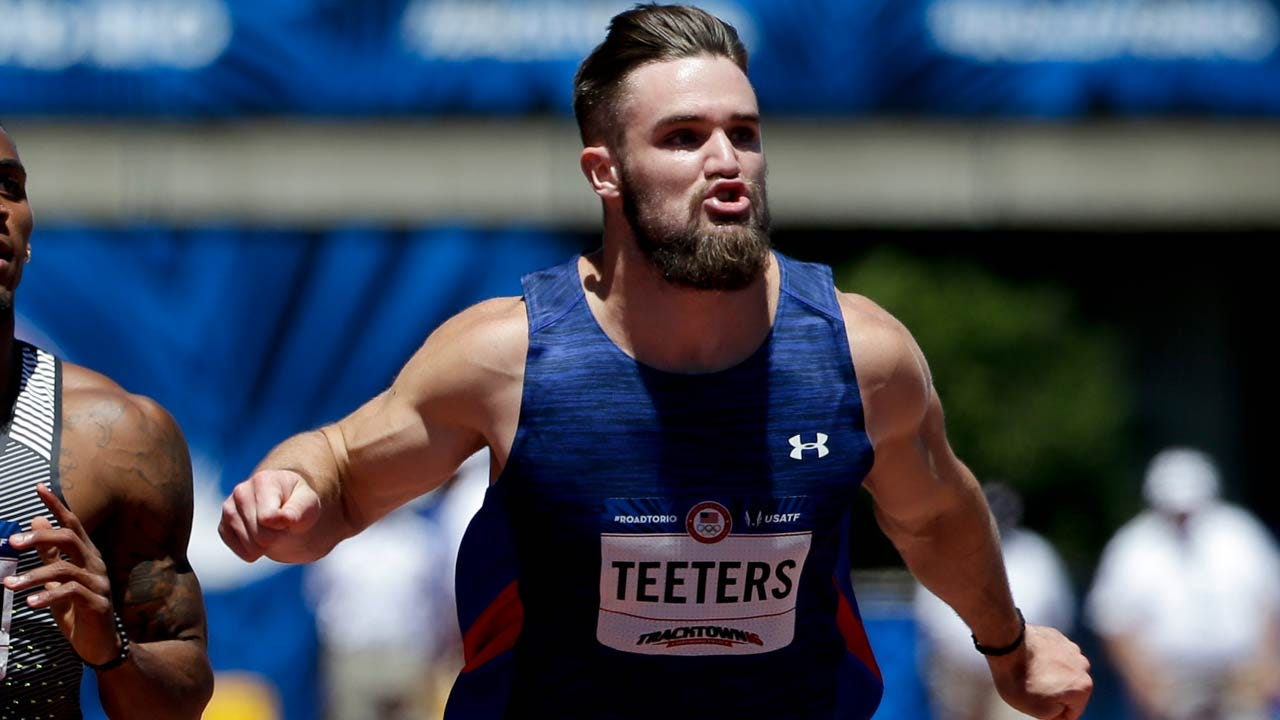 Former OSU Sprinter John Teeters Qualifies For 100m Semifinals At U.S. Olympic Trials