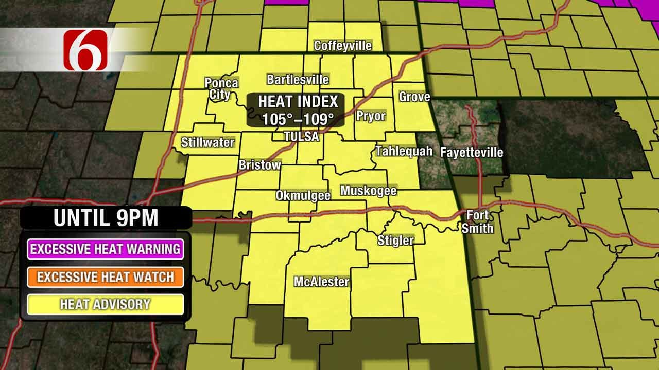 Dangerous Heat, Humidity Continues With Possible Break Next Week