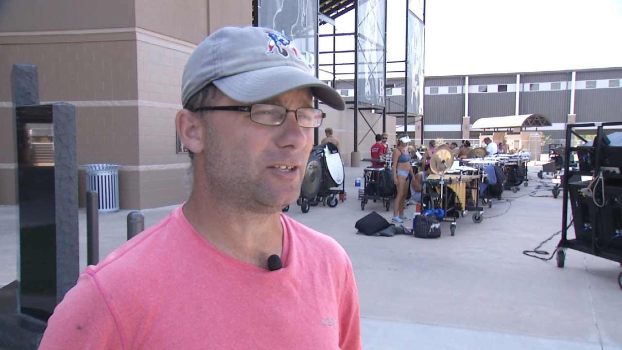 Despite Summer Heat, Musicians March On In Broken Arrow