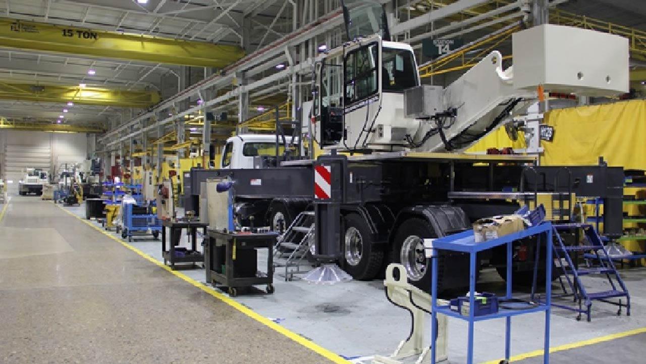 Terex Moves Iowa Production To Oklahoma City Plant