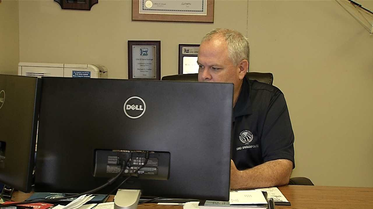 Sand Springs Police Chief Works To Calm Community's Fears