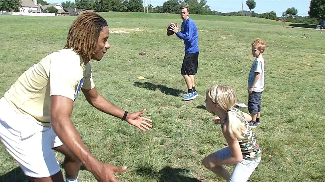 TU Athletics Encourage Kids To Get Active By Hosting Summer Program