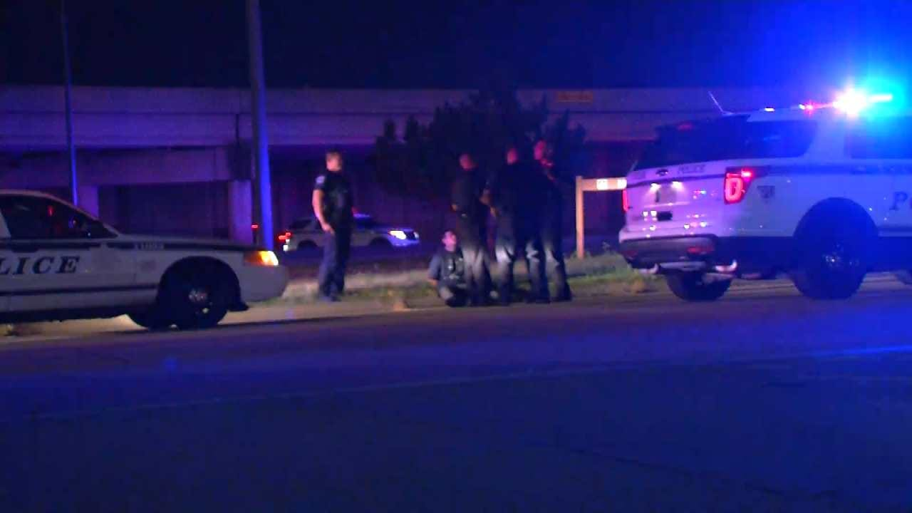 Two Suspected Robbers In Custody After Tulsa Police Chase