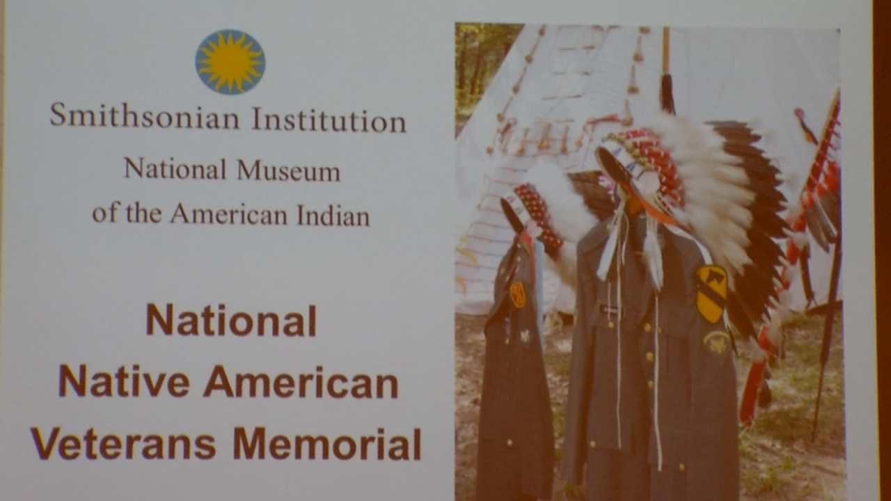 Cherokees Help Smithsonian Plan Native American Veterans Memorial