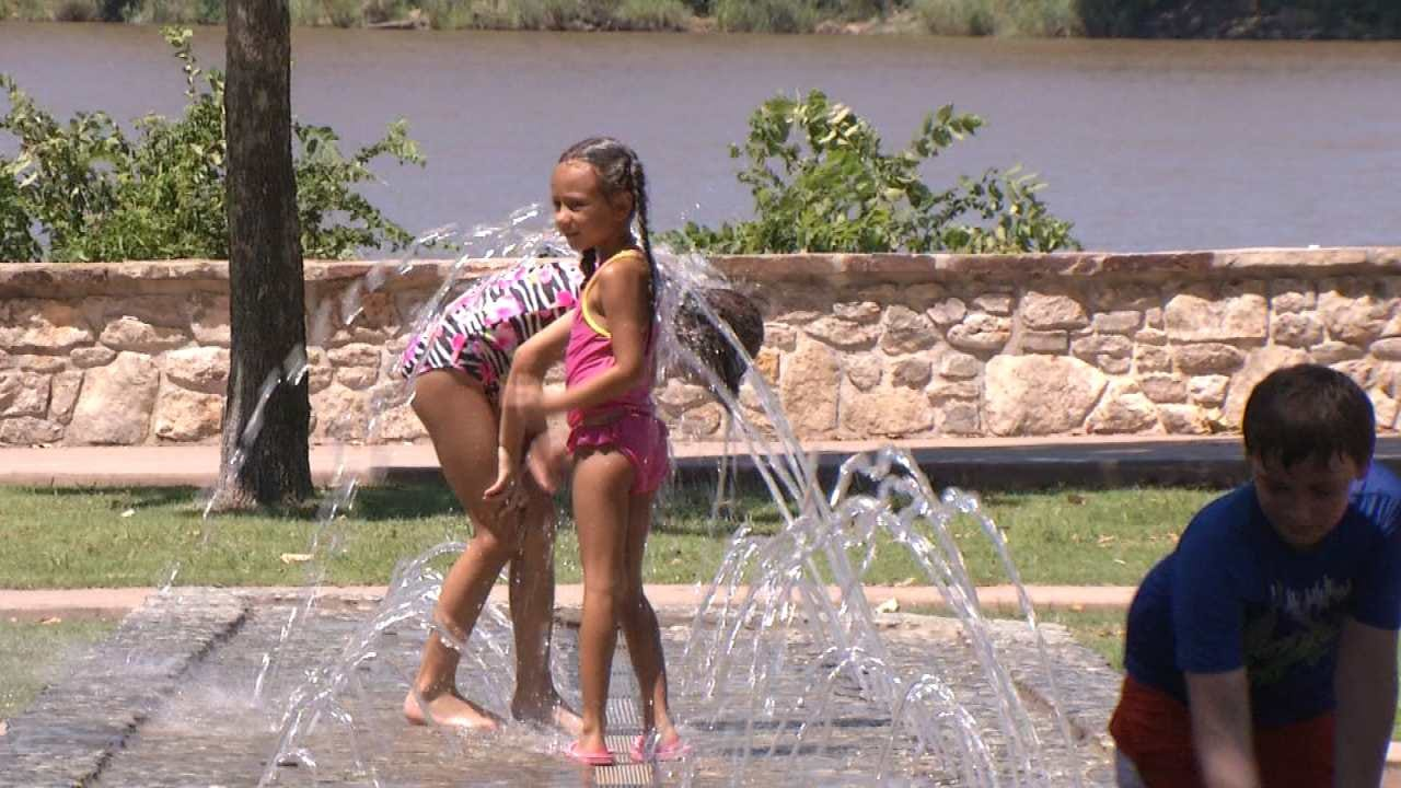First Triple-Digit Day Scorches Tulsa