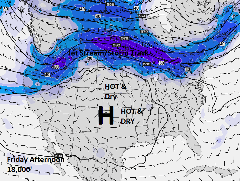 Pattern Change After Weekend For Oklahoma
