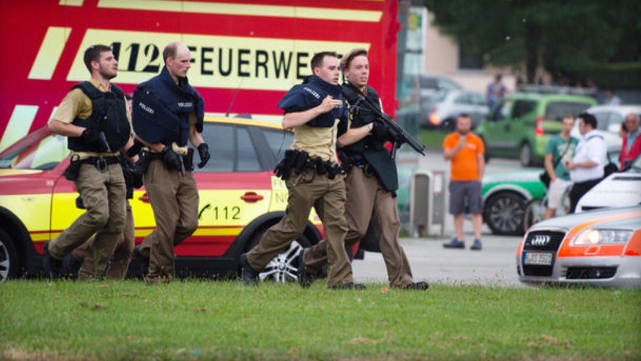 Reports: At Least 8 Dead In Munich Mall Shooting
