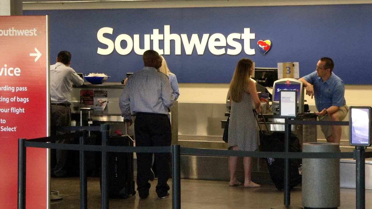 Southwest Passengers Can Expect Long Wait At Tulsa International Airport