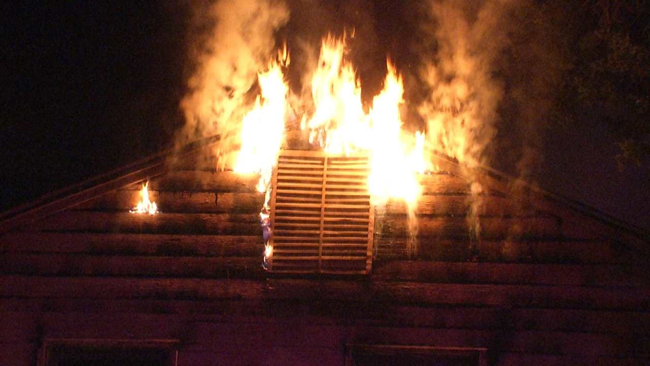Vacant Tulsa Home Destroyed By Fire