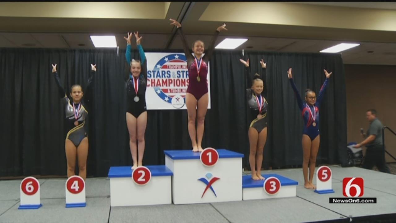 National Gymnastics Competition Brings Elite Level To Tulsa