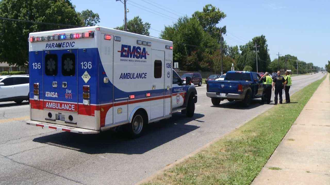 Tulsa Man Run Over After Jumping On Car, Falling Off During Domestic Dispute
