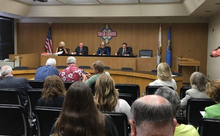 County Commissioners Pull Glanz's Name From TCSO Training Center